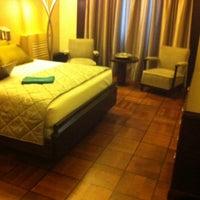 Photo taken at Hotel Britania by Clarisse G. on 1/16/2014