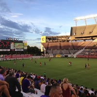 Photo taken at Camping World Stadium by Orlando Revista on 7/11/2013