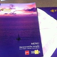 Photo taken at Thai Airways (TG) Restaurant by Beau O. on 9/25/2013