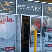 Photo taken at Hockey-X Superstore by Richie W. on 10/26/2013