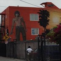 Photo taken at Jim Morrison Mural by Richie W. on 3/18/2015