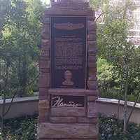 Photo taken at Bugsy Siegel Memorial by Richie W. on 8/6/2013