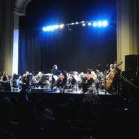 Photo taken at Teatro Novedades by Luis C. on 1/15/2014