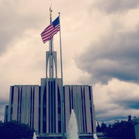 Photo taken at Seattle Washington Temple by Marcus L. on 6/20/2013