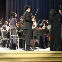 Photo taken at Martin Luther King Jr High School by Eboni P. on 10/29/2013