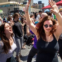 Photo taken at Lunch Beat Montréal by Lunch Beat Montréal on 8/22/2014