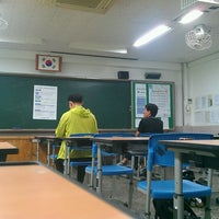 Photo taken at 방배중학교 by Daesung P. on 9/16/2012