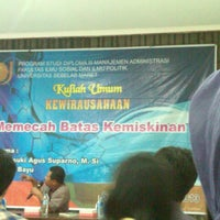 Photo taken at Aula FISIP UNS by erna d. on 6/20/2013