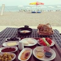 Photo taken at Mustafanın Yeri Beach by Kubilay Y. on 8/4/2014