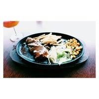 Photo taken at Gadeno New York Pizza & Steak by Viron T. on 12/24/2013