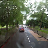 Photo taken at Clapham Common by Angela C. on 6/15/2013