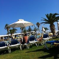 Photo taken at Beach of Lyttos Beach by Ольга У. on 7/20/2013