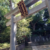 Photo taken at 乙女稲荷神社 by Tan M. on 6/2/2013