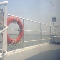 Photo taken at Jiaomen Waterway by Ricardo C. on 10/19/2012