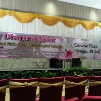Photo taken at Ballroom Crowne Plaza Hotel Semarang by Ang I. on 7/28/2013