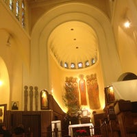 Photo taken at Church of the Sacred Heart of Jesus by MICHAŁ on 1/12/2014
