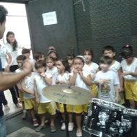 Photo taken at Escola de Música by Erika F. on 5/29/2013