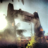 Photo taken at Jurassic Park: The Ride by Todd S. on 4/22/2013