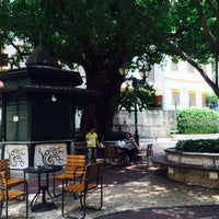 Photo taken at Largo do Lilau / Lilau Square 亞婆井前地 by taka on 7/19/2015