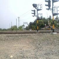 Photo taken at Stasiun Patukan by dwi cahya on 11/4/2013
