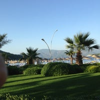 Photo taken at Hotel Aqua by Murad Ç. on 5/19/2013