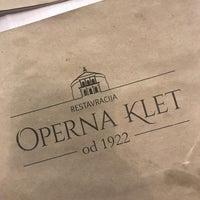 Photo taken at Operna klet by Katrin on 1/20/2018