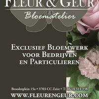Photo taken at Bloematelier Fleur & Geur by Jochem B. on 6/8/2013
