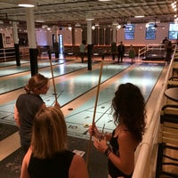 Photo taken at The Royal Palms Shuffleboard Club by Michael S. on 7/3/2014