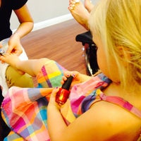Photo taken at Hand Touch Nails by Jennifer C. on 10/4/2013