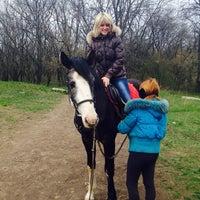 "Photo taken at Конный клуб ""Horse travel"" by Галина Д. on 4/12/2014"
