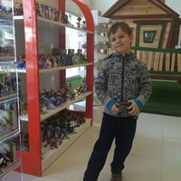 Photo taken at Toy Tower by Irina S. on 3/11/2014