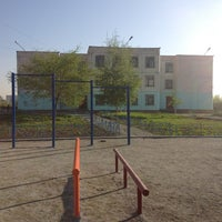 Photo taken at Школа № 155 by Vitusha S. on 5/24/2013