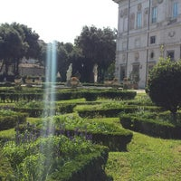 Photo taken at Piazzale Scipione Borghese by Lolly J. on 9/16/2014