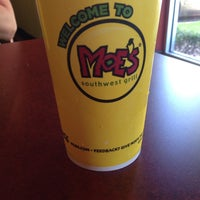 Photo taken at Moe's Southwest Grill by Chyna Y. on 9/30/2013