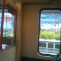 Photo taken at Weaste Metrolink Station by Robert B. on 12/9/2012