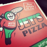 Photo taken at Jet's Pizza by Jerome T. on 4/20/2015