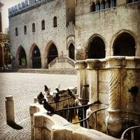Photo taken at Fontana della Pigna by Lena P. on 7/26/2013
