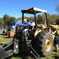 Photo taken at Weir River Farm by James O. on 10/13/2012