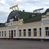 Photo taken at Бобруйск Пассажирский / Bobruysk Railway Station by Alina S. on 7/10/2014
