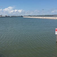Photo taken at Fulton Beach by Gracie B. on 6/10/2016