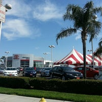 Photo taken at John Elway's Crown Toyota Scion by Dorie M. on 5/15/2013