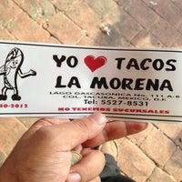 Foto tomada en Tacos La Morena por Odín R. el 1/5/2013