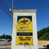 Photo taken at Britt Automotive Inc by Curt B. on 5/16/2013
