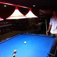 Photo taken at Cosmic Bowling by Emrah E. on 5/29/2013