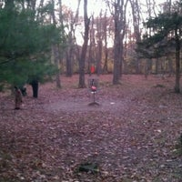 Photo taken at Borderlands State Park Disc Golf by Andrea F. on 10/22/2012
