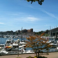 Photo taken at Hornby Street Ferry Dock by Kathy P. on 8/13/2013