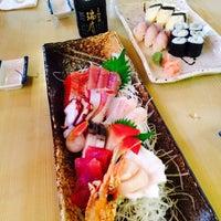 Photo taken at Kibune Sushi by Kathy P. on 7/4/2015