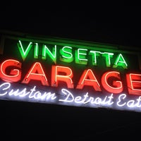 "Photo taken at Vinsetta Garage by Michele ""Meesh"" B. on 5/29/2013"