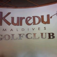 Photo taken at Kuredu Golf Club by MaaiXiaam on 1/6/2014