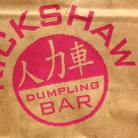 Photo taken at Rickshaw Dumpling Truck by Forrest on 9/11/2013
